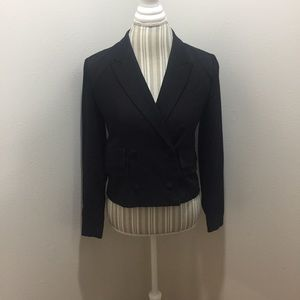 Silence + Noise Urban Outfitters Cropped Blazer